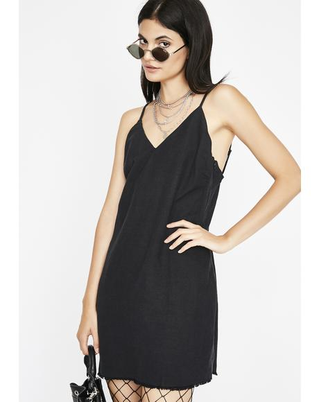 Night Storm Slip Dress