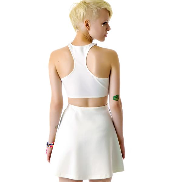 3rd Eye Monster Skater Skirt