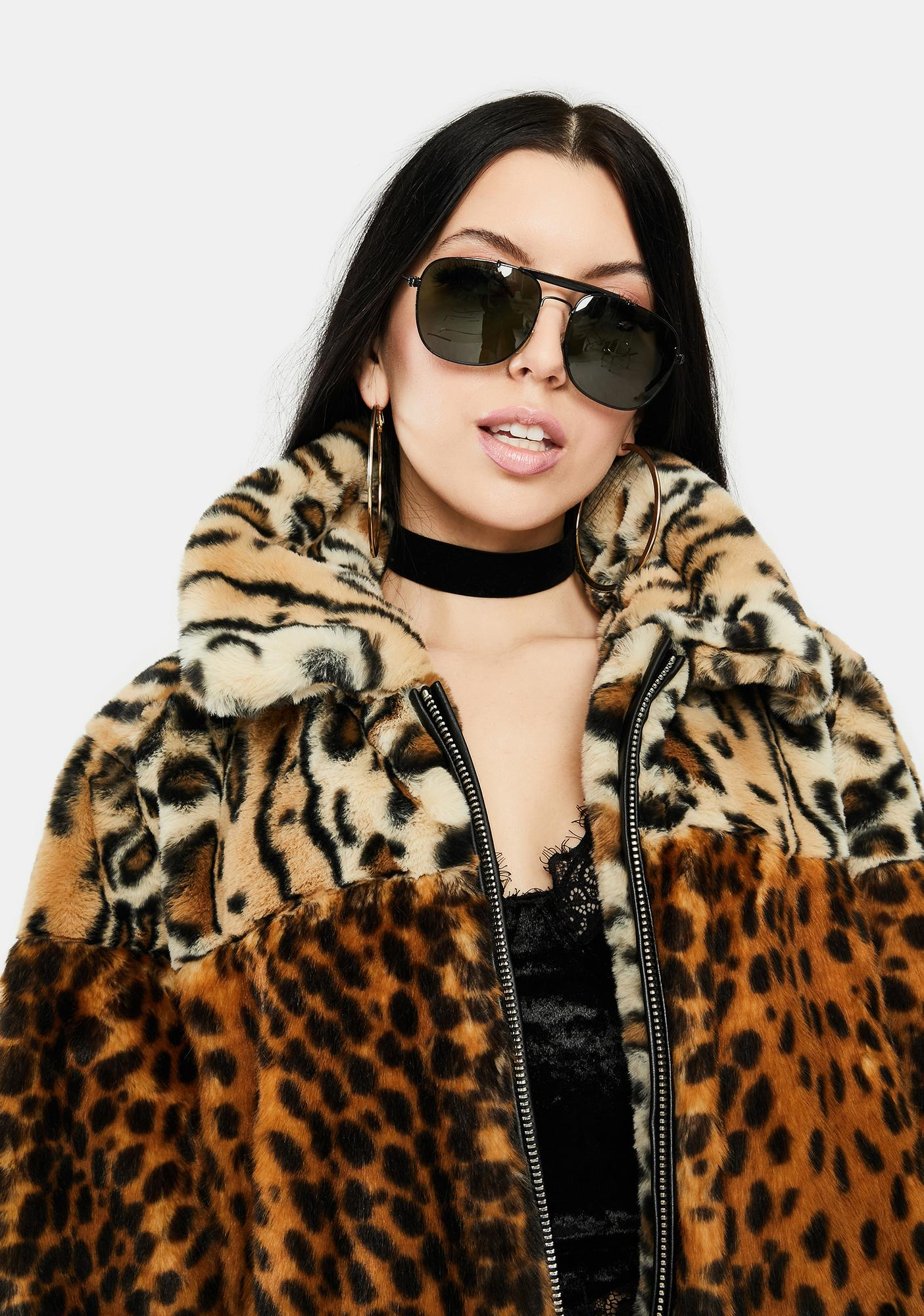 Blank NYC Wild One Faux Fur Jacket