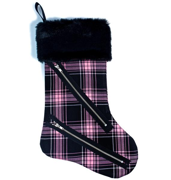 Electric Anti Plaid Stocking
