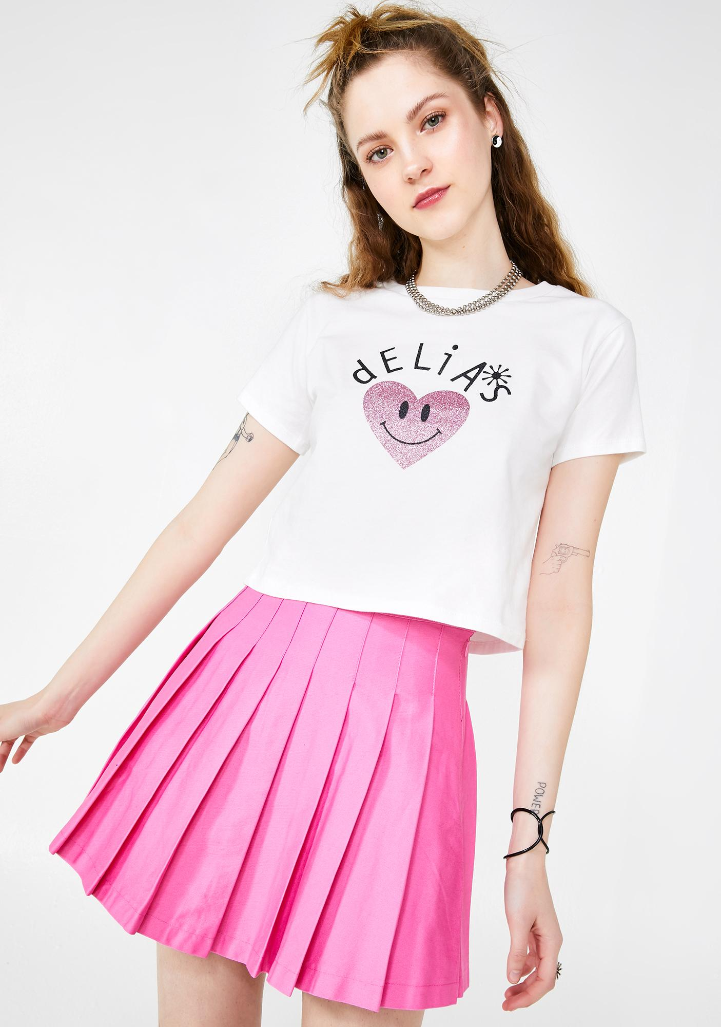 dELiA*s by Dolls Kill Teen Confessions Pleated Skirt