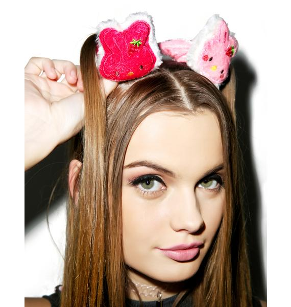 Usa-pyon Scrunchie