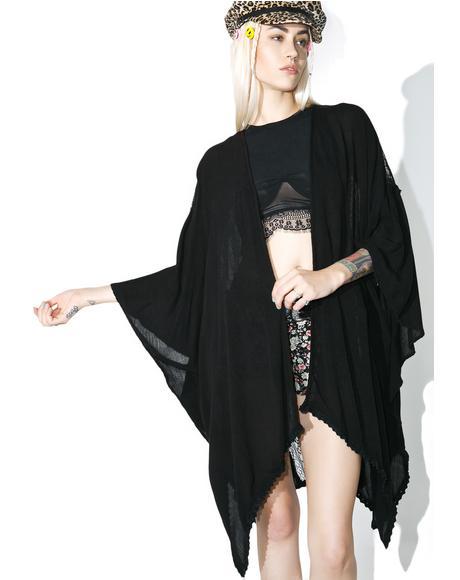 Jhene Sheer Kimono
