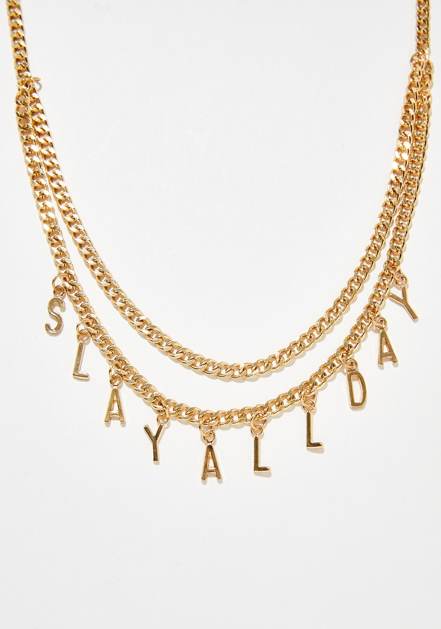 3af3798394 ... Slay All Day Body Chain ...