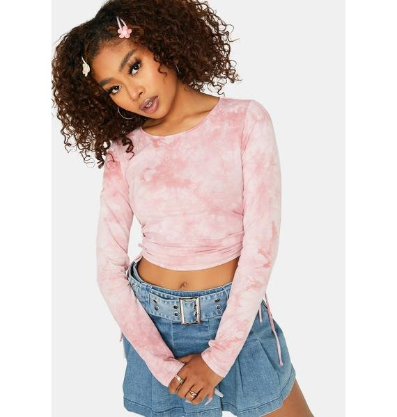 Closer To You Tie Dye Crop Top