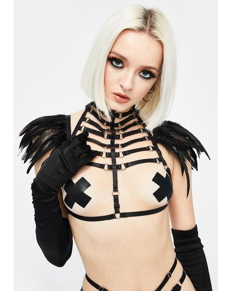 From The Ashes Winged Body Harness