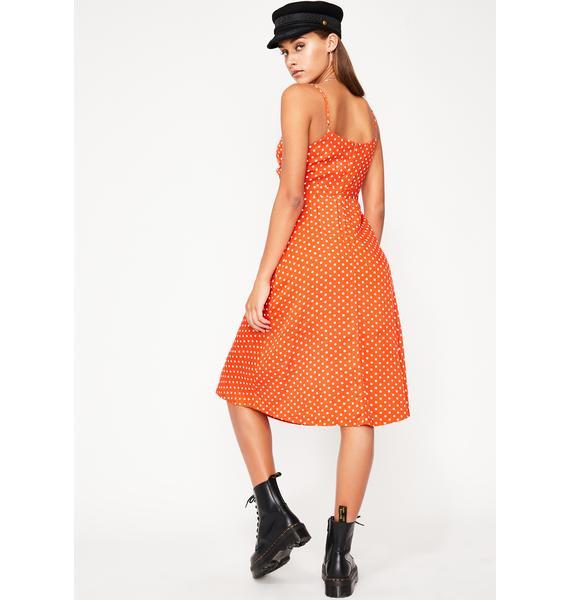 Bittersweet Lover Midi Dress