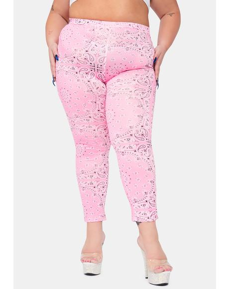 Romantic Gotta Paisley Rodeo Leggings
