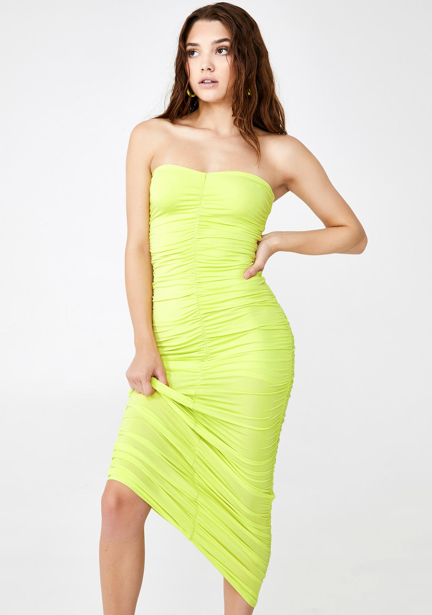 Glow Up Ruched Maxi Dress