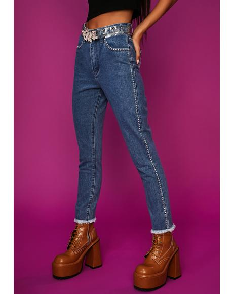 Lap Of Luxury Skinny Jeans