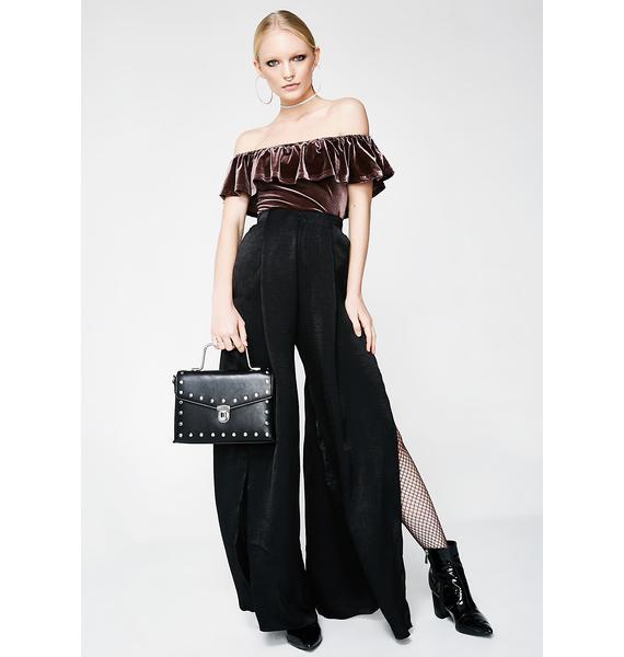 Fancy Dance Velvet Bodysuit