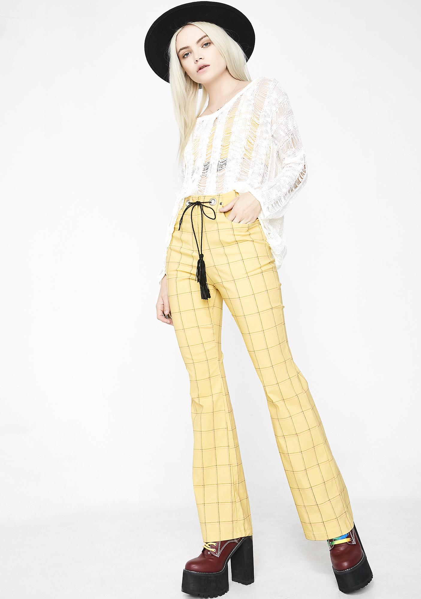 Betta Daze Check Trousers