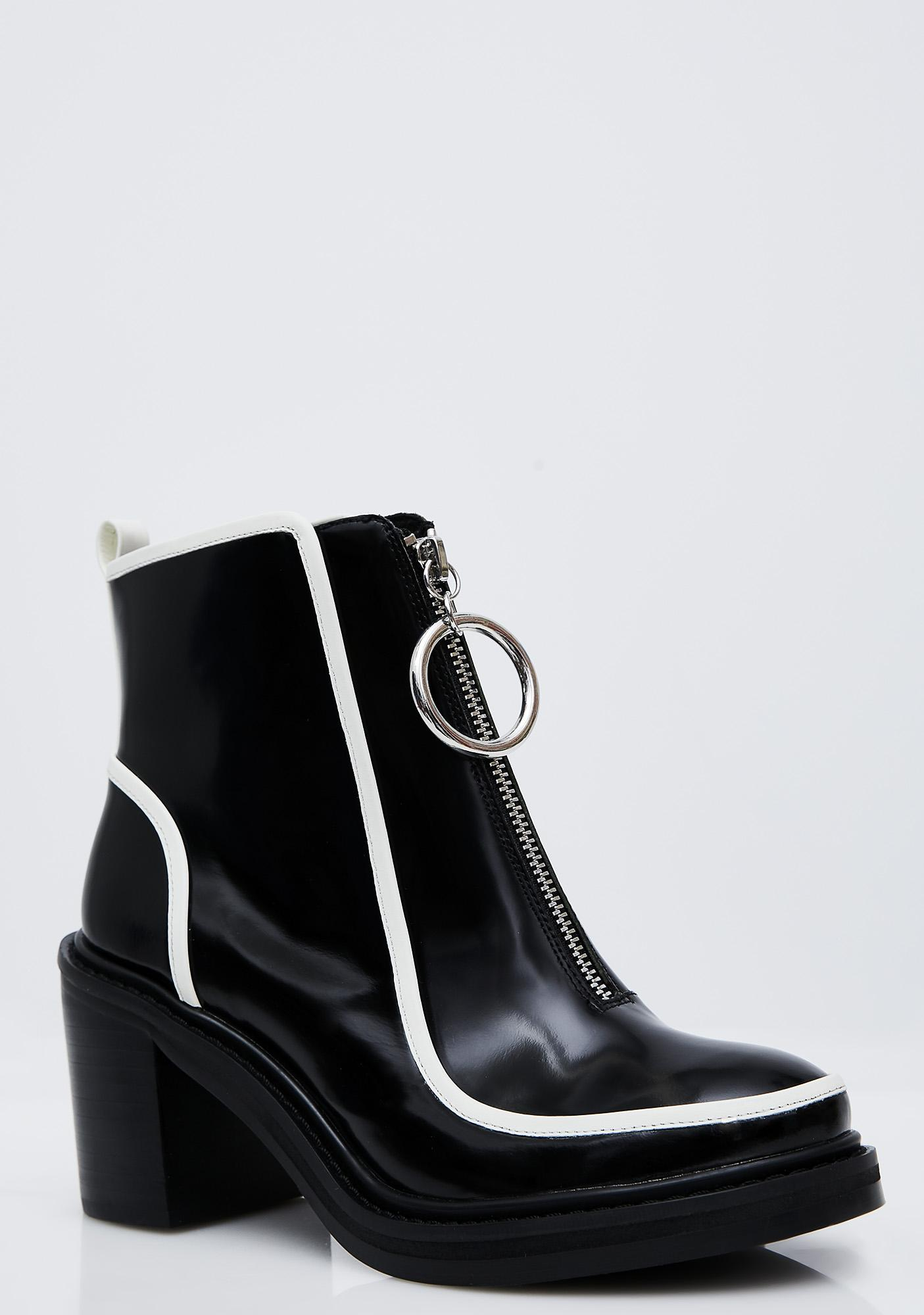 Shellys London Freya Zip-Up Booties