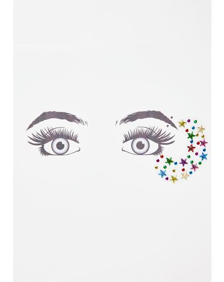 Cosmic Cutie Face Gems
