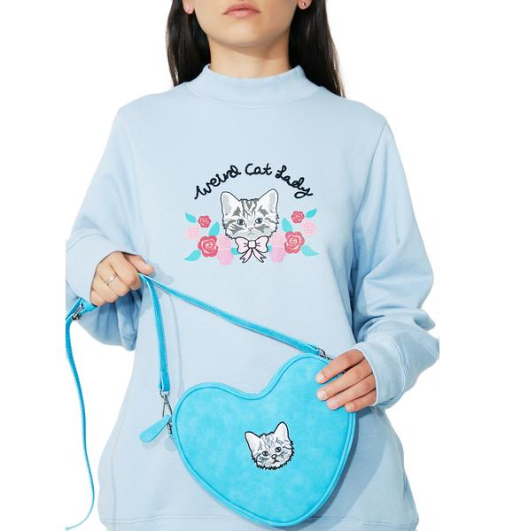 Lazy Oaf Soft Heart Kitty Bag