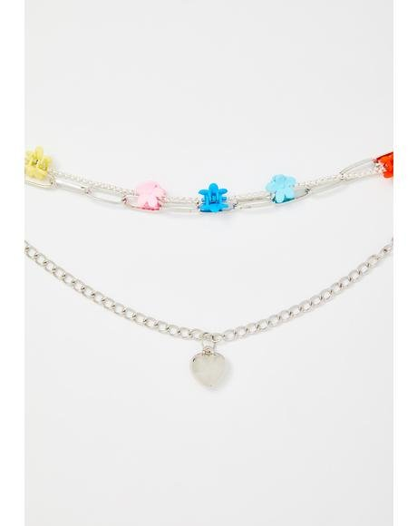 Petty Crush Chain Necklace