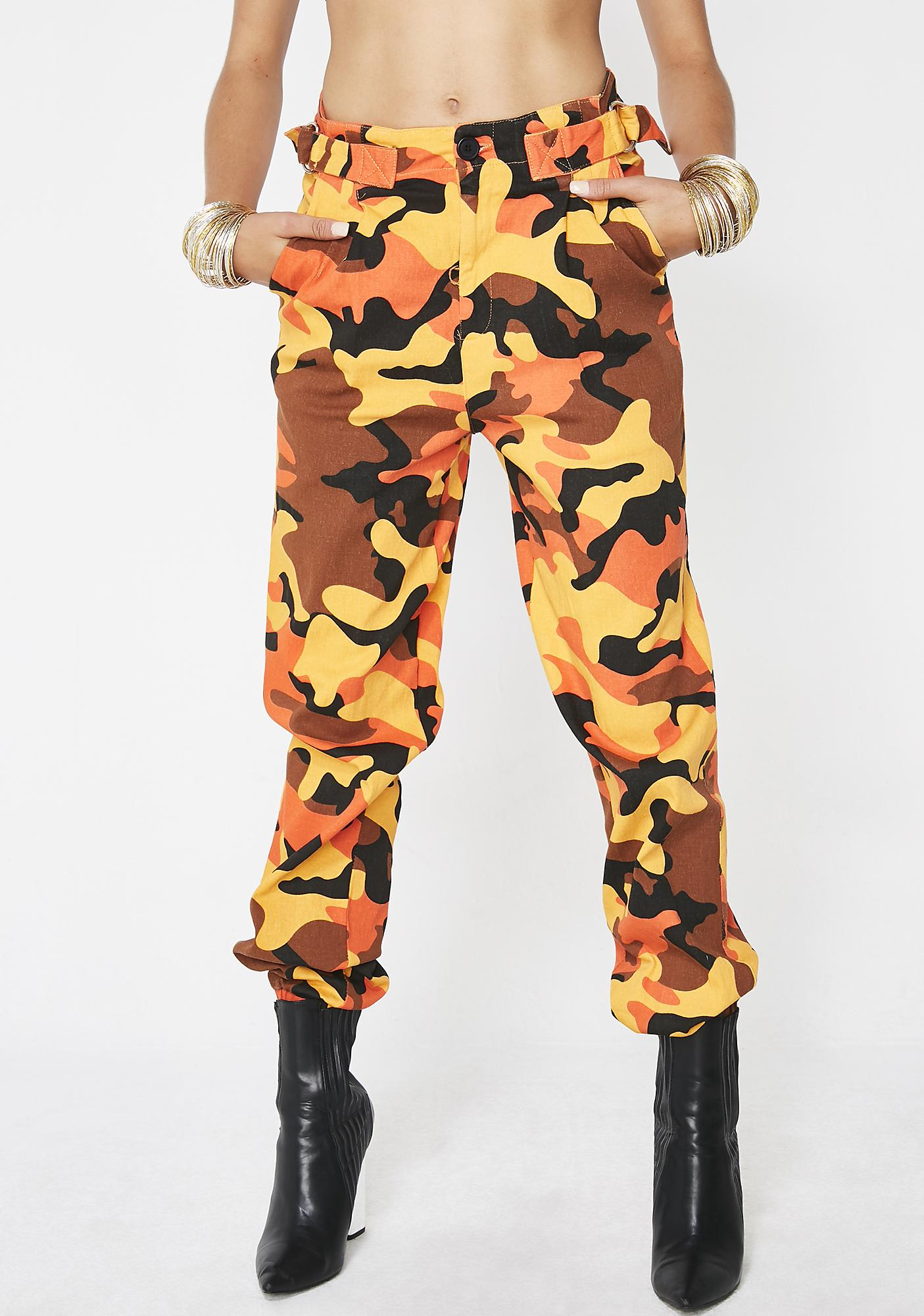 Wish You Would Camo Pants