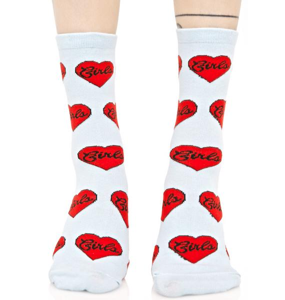 Local Heroes Girls Ankle Socks