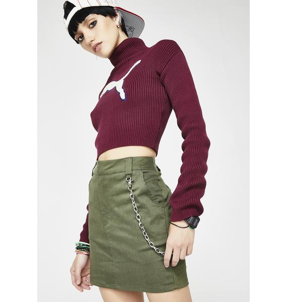 Tuff Love Chain Skirt