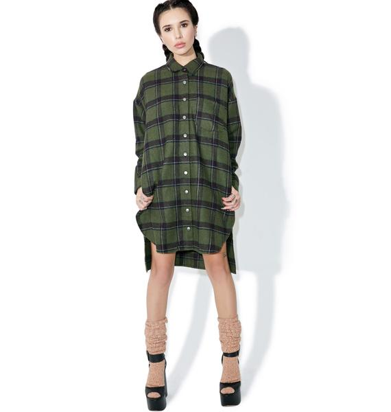 Into The Wild Shirt Dress