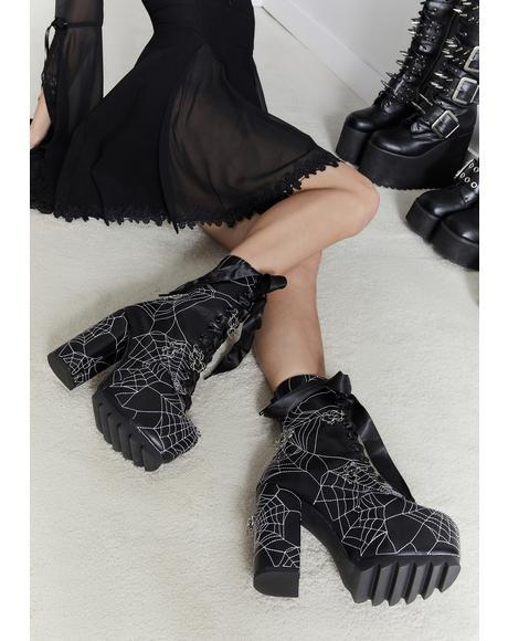 Taste Of Venom Platform Boots