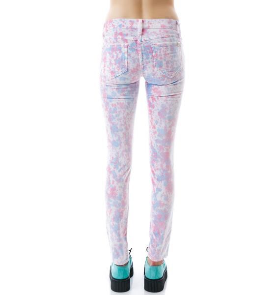 Wildfox Couture Heartbeat Marriane Skinny Jeans