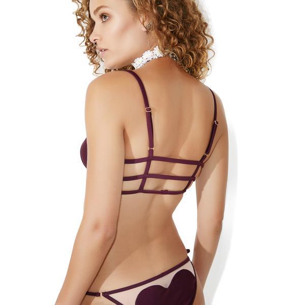 Wildfox Couture Fig Amora Bikini Top