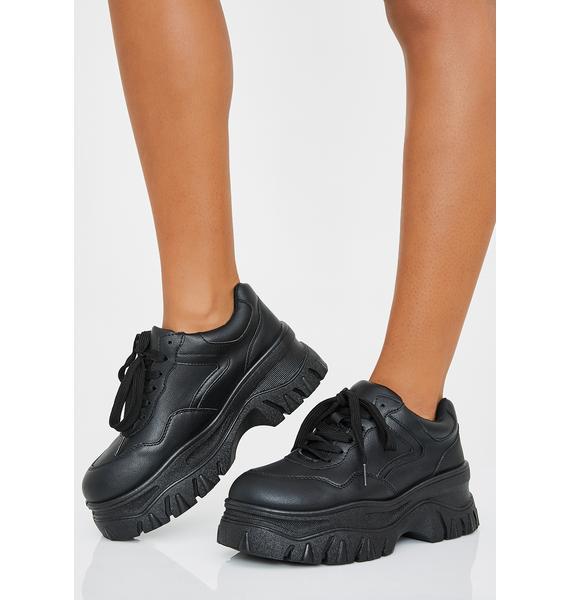 Night Insta Pop Platform Sneakers