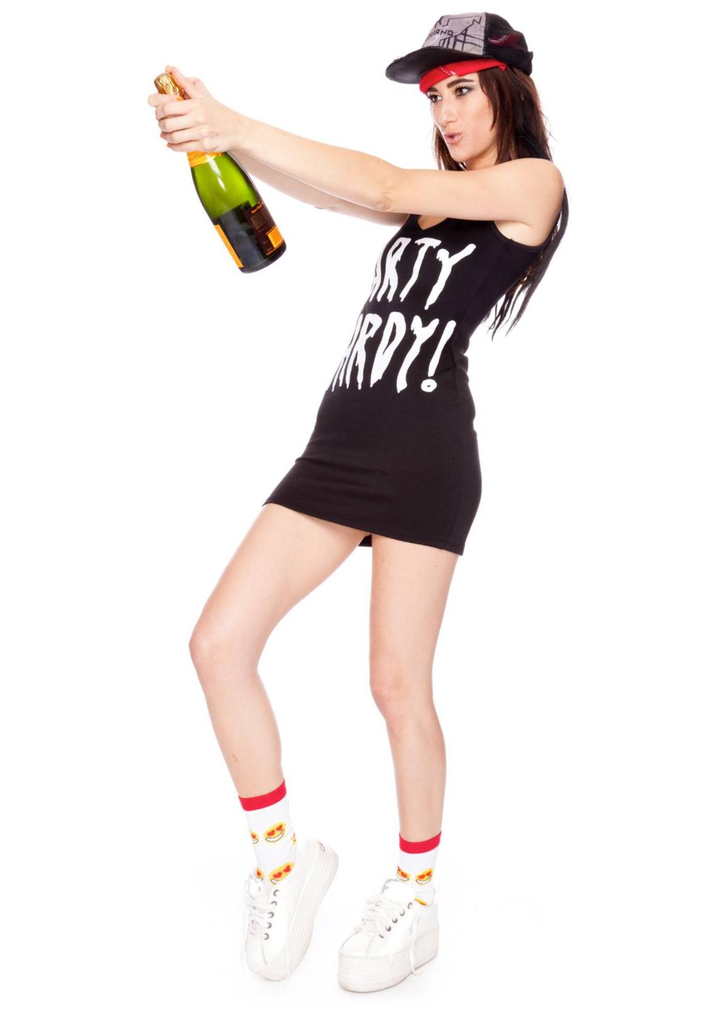 Dimepiece Party Hardy Mini Dress