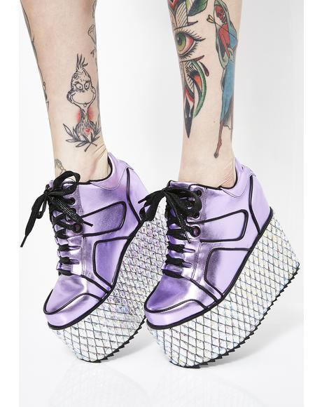 Glamtronic Platform Sneakers