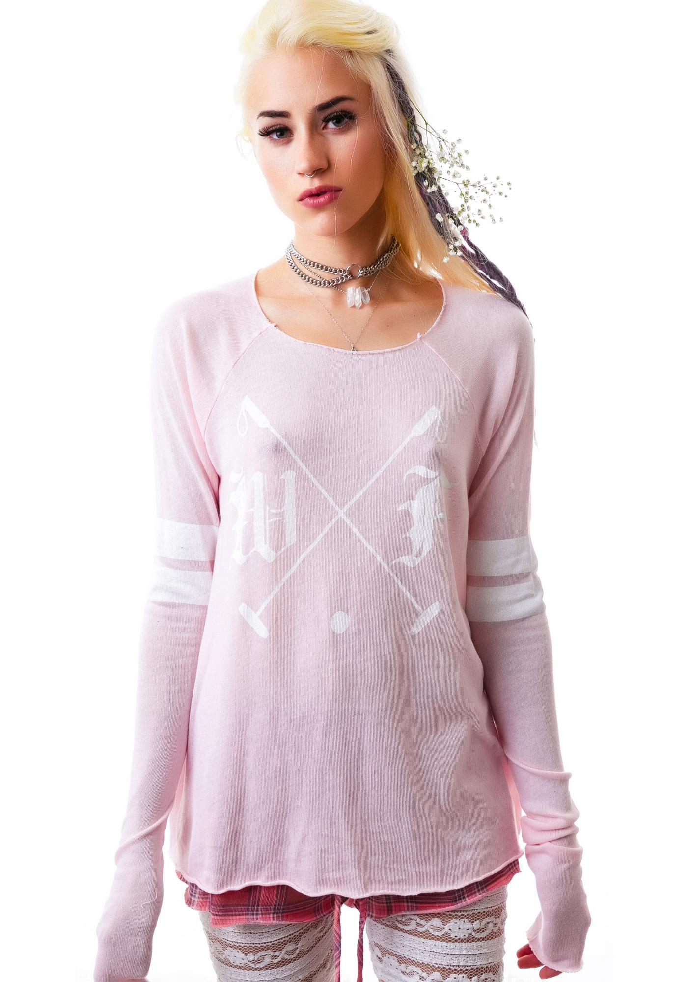 Wildfox Couture Polo Club Ecentricity Cozy Raglan