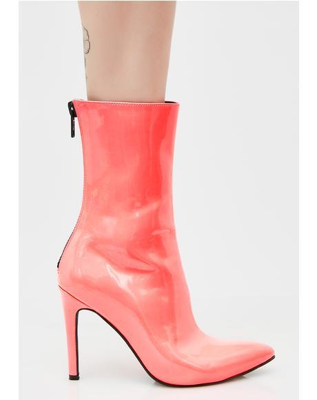 Coral Cosima Boots