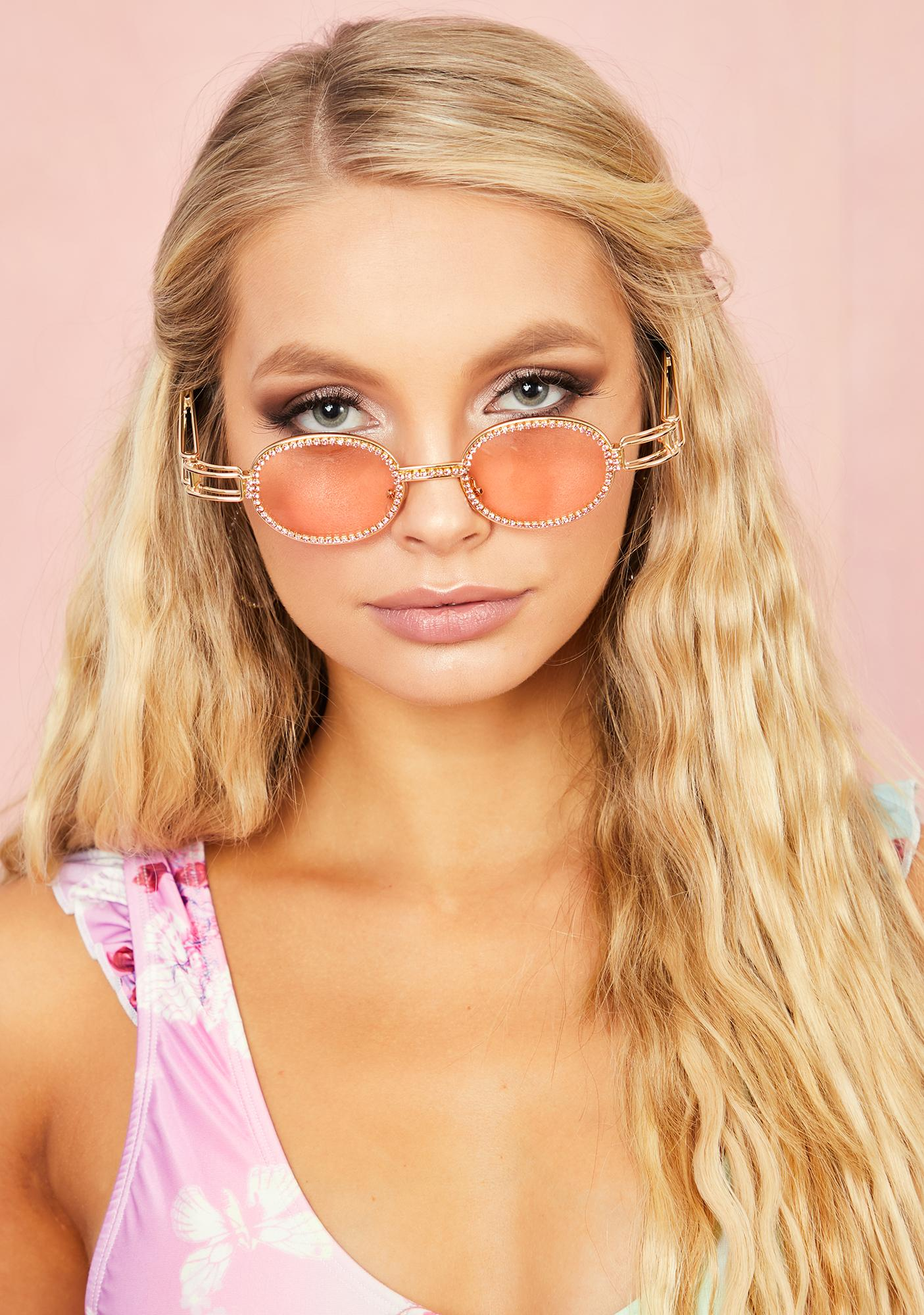 Beverly Hills Rhapsody Oval Sunglasses