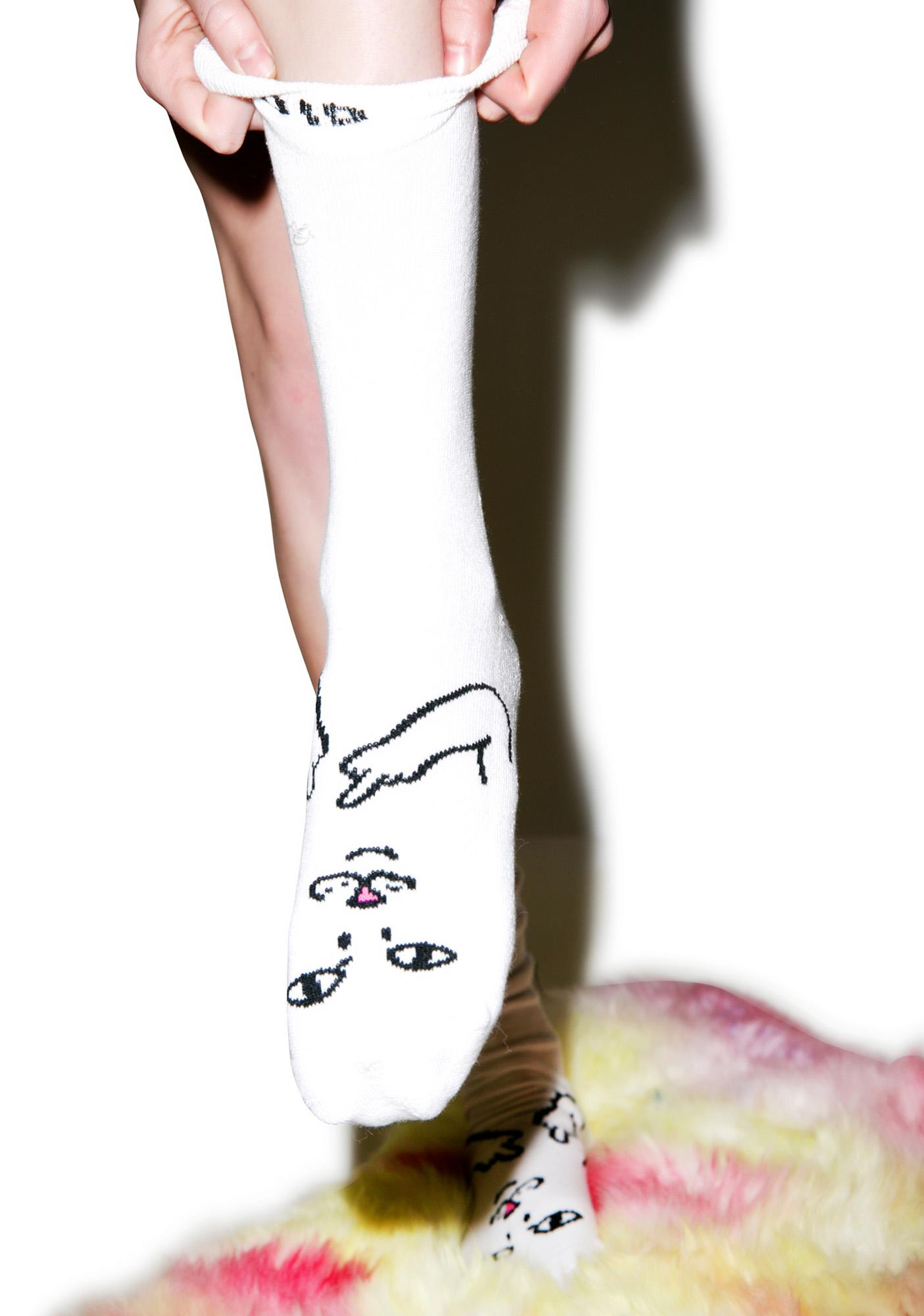 RIPNDIP Bad Kitty Socks