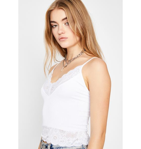 Wishing For You Lace Tank