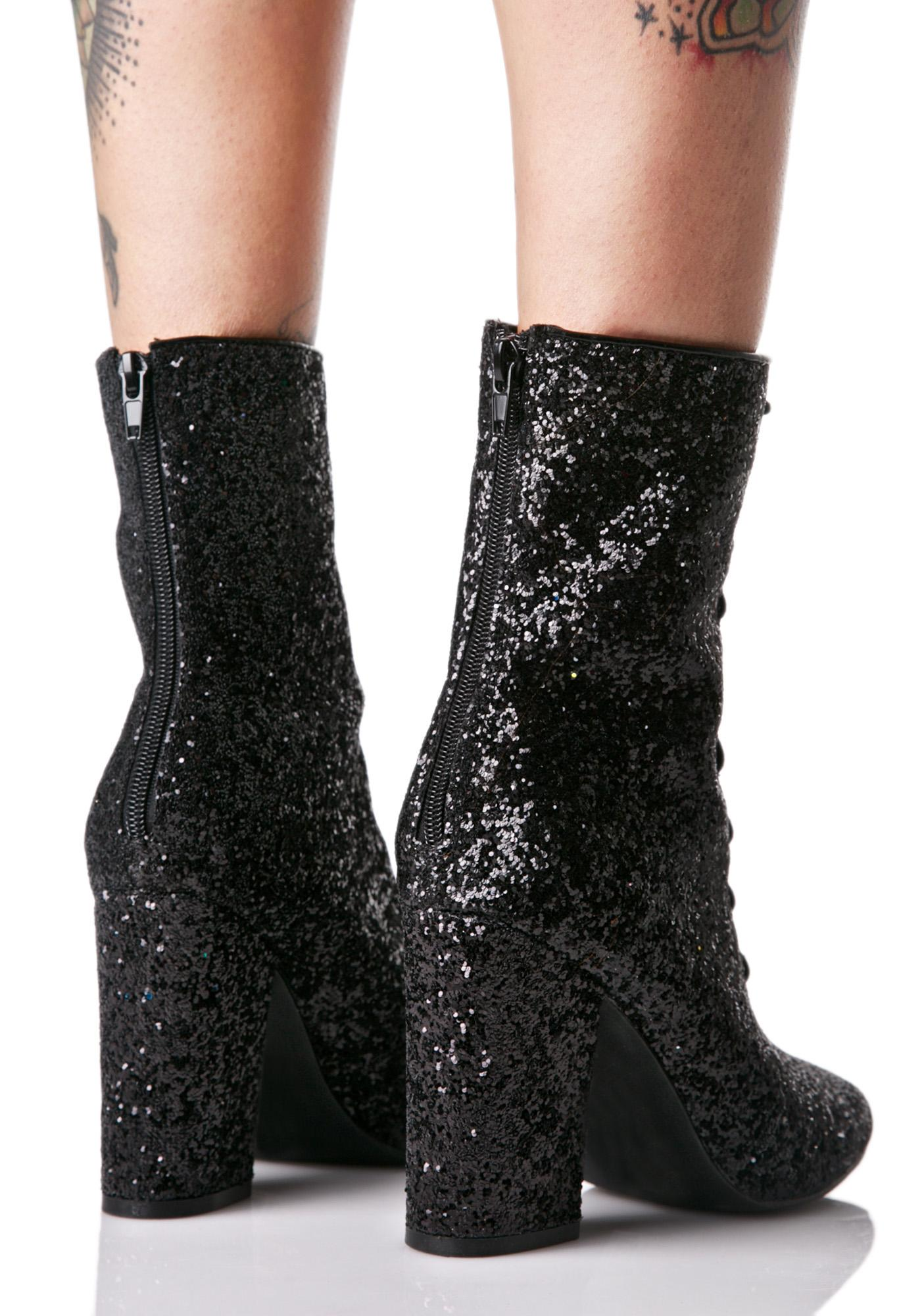 Y.R.U. Meteor Glitter Boots
