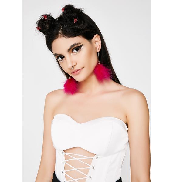 Candy Princess Fluff Earrings
