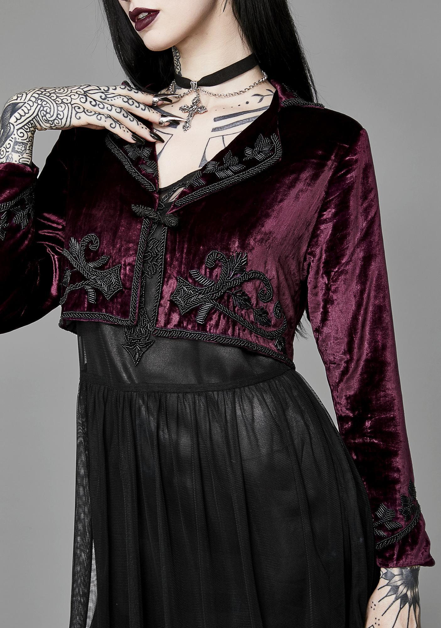 Widow Ritualistic Worship Beaded Jacket