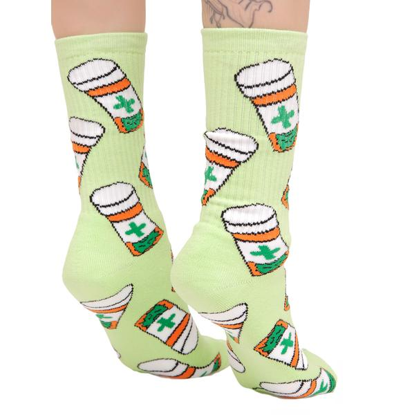 40s & Shorties Cannabis Club Socks