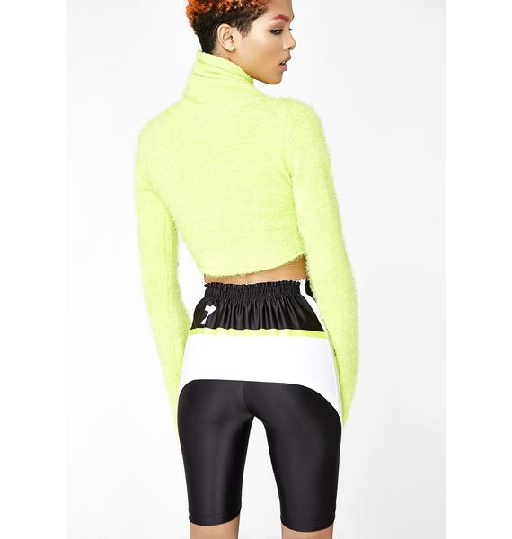 Varenne V Cut Biker Shorts