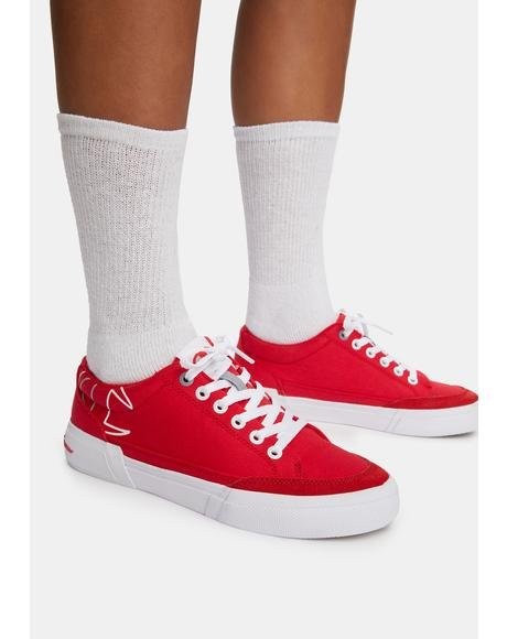 Red Bandit Sneakers