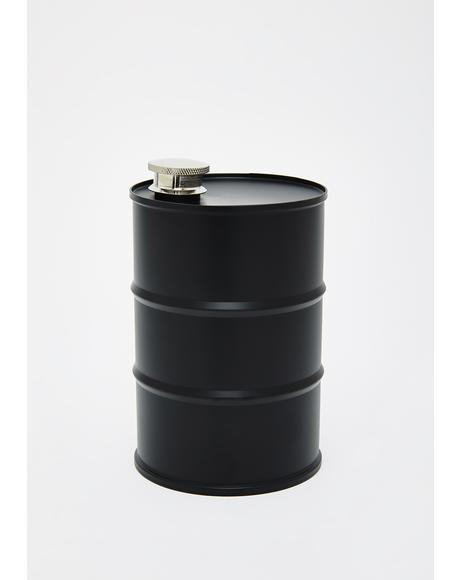 Dark Desires Barrel Flask