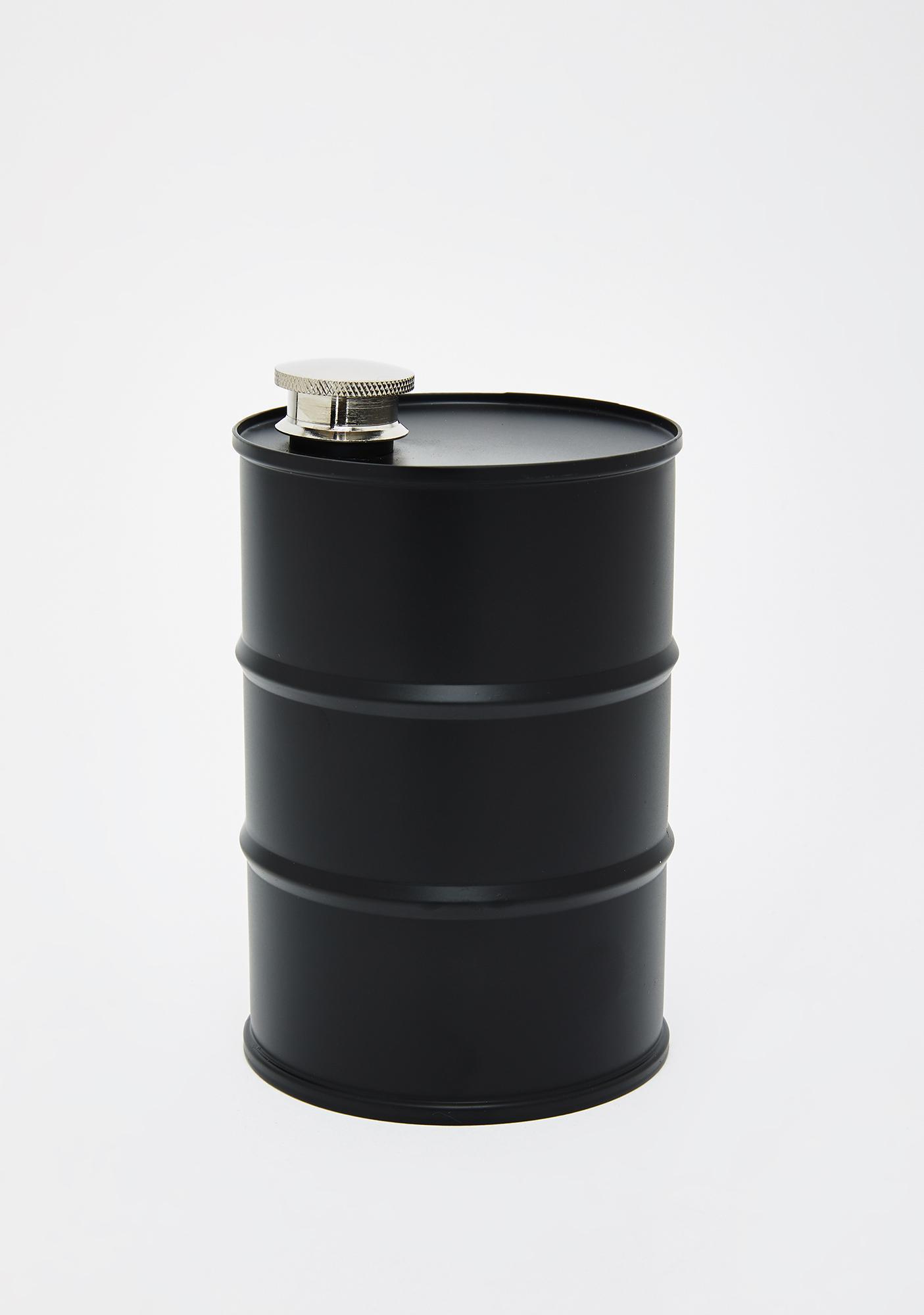 Dark Desires Barrel Flask