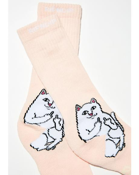 Kiss Lord Nermal Socks