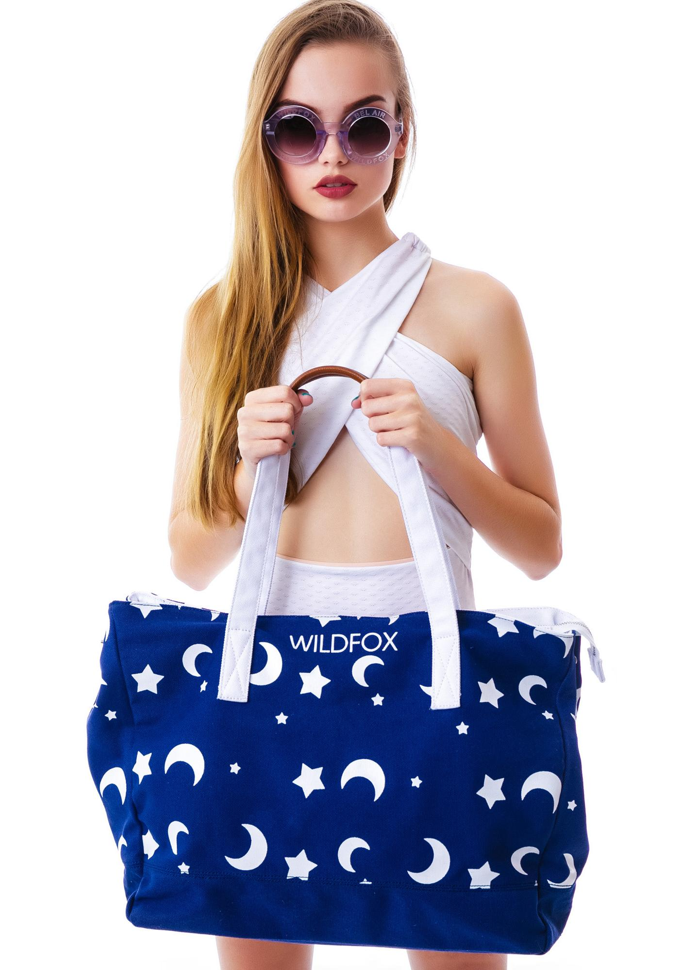 Wildfox Couture Night Owl Tote Bag