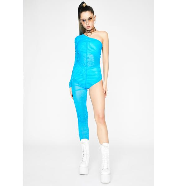 Euphoric Divide Ruched Jumpsuit