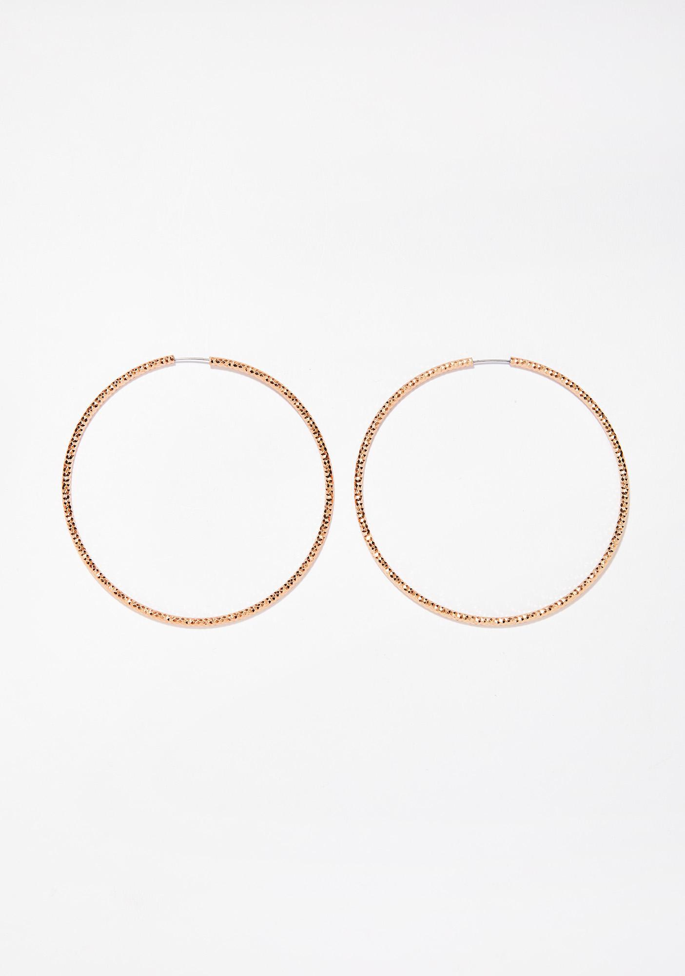 Dunkin' Hoopz Earrings
