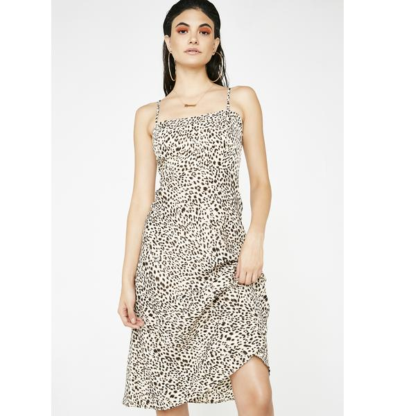 Predatory Behavior Leopard Dress