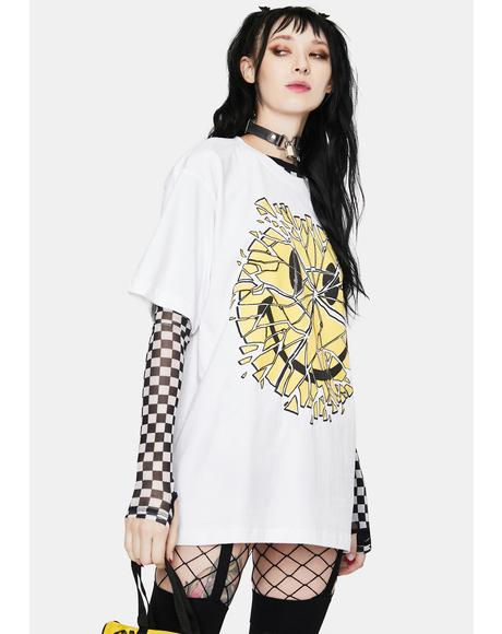 Smiley Glass Graphic Tee