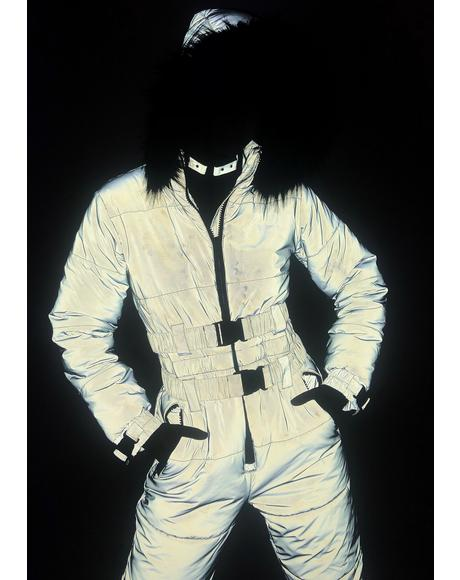 Gamma Ray Glimmer Reflective Snowsuit